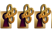 6 keys out of 5 awarded to the Roosevelt Escape Room at Palace Games by Escape Authority